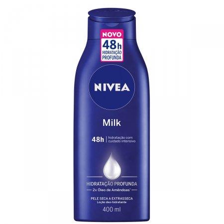 Hidratante Corporal Nivea Milk Pele Seca e Extrasseca