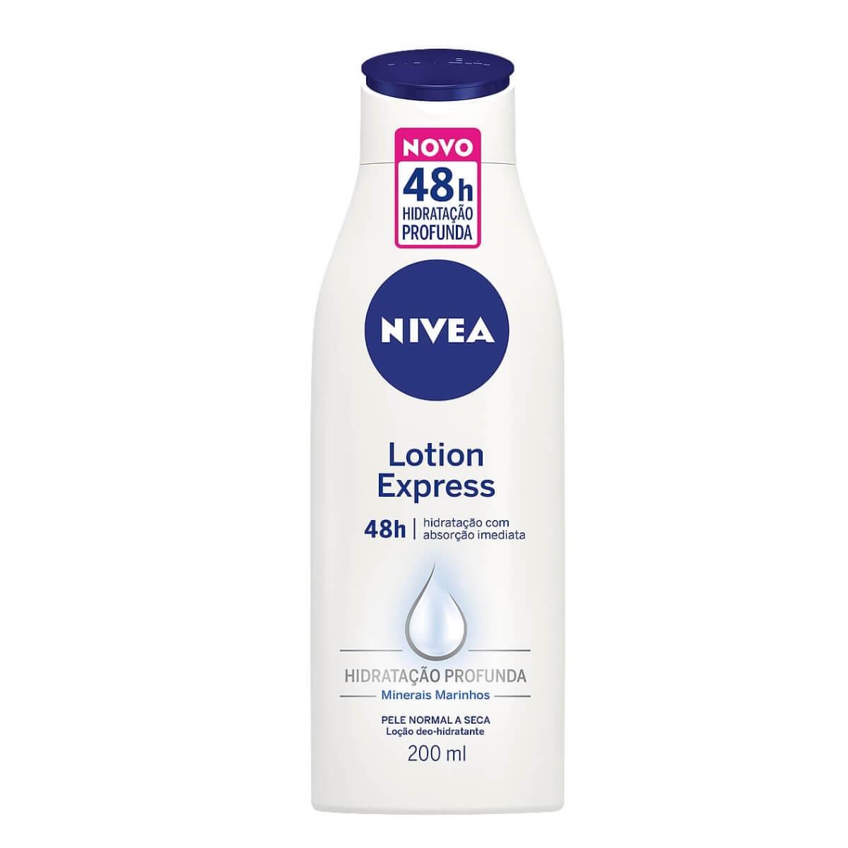 Loção Hidratante Nivea Lotion Express com 200ml 200ml