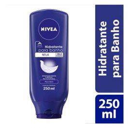 Hidratante Desodorante para Banho Nivea Milk com 250ml