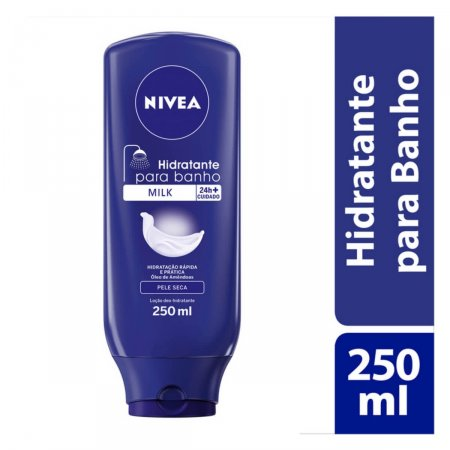 Hidratante Desodorante para Banho Nivea Milk
