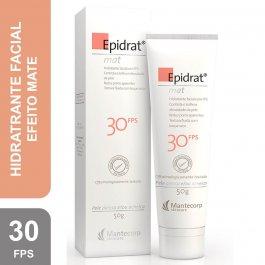Hidratante Facial Epidrat Mat Mantecorp Efeito Mate FPS 30 com 50g