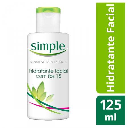 Hidratante Facial Simple FPS15