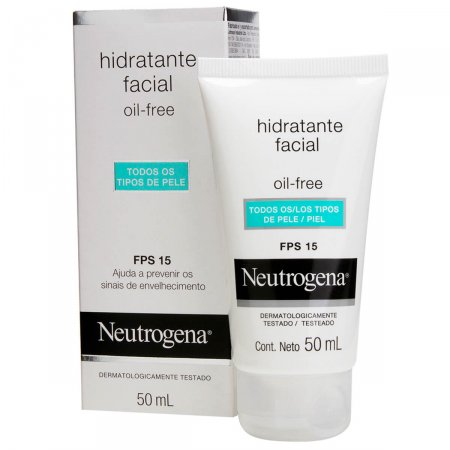 Gel Creme Hidratante Facial Neutrogena Oil Free FPS15