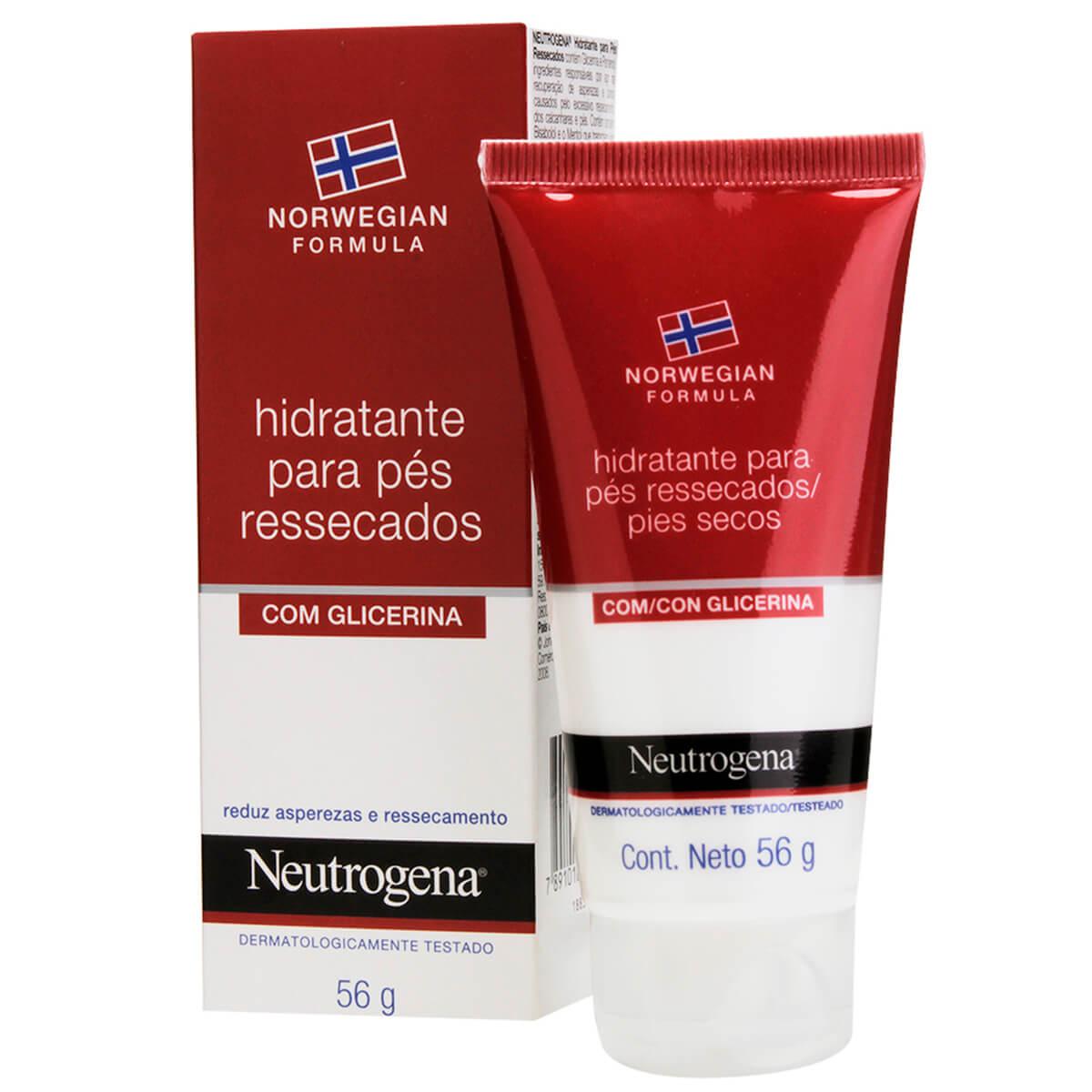Hidratante para Pés Ressecados Neutrogena com 56g 56g