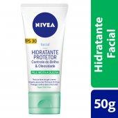 Hidratante Protetor Nivea Controle do Brilho & Oleosidade FPS30