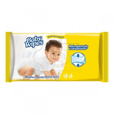 Lenço Umedecido Baby Wipes