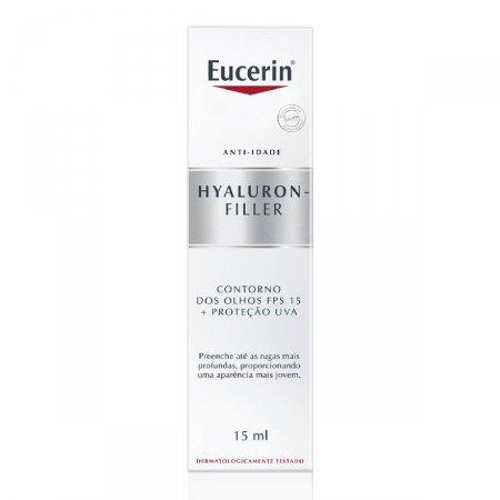 Creme Facial Anti-Idade Eucerin Hyaluron-Filler Olhos FPS15 com 15ml