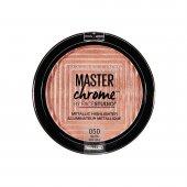 Iluminador em Pó Maybelline Face Studio Master Chrome Molten Rose Gold