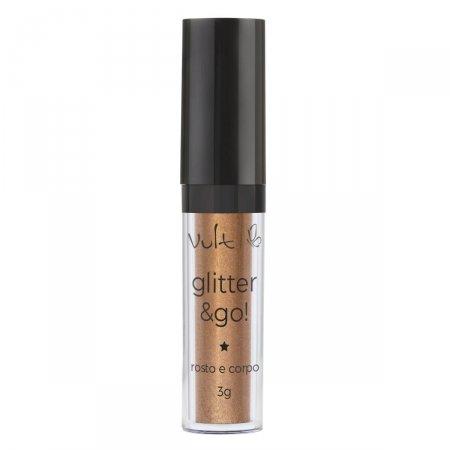 Iluminador Vult Glitter & Go! para Rosto e Corpo Pó Encantado