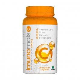 Suplemento Alimentar Imunomais C 1000mg com 30 cápsulas veganas