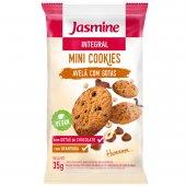 JASMINE MINI COOKIES INTEGRAL AVELA COM GOTAS DE CHOCOLATE 35G