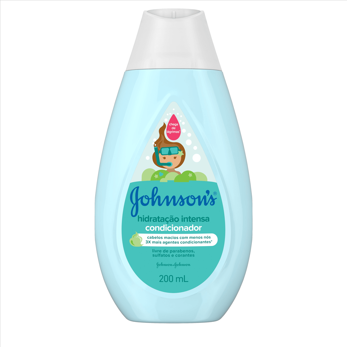 Condicionador Johnson's Hidratação Intensa com 200ml 200ml