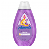 JOHNSONS BABY SHAMPOO FORCA VITAMINADA 400ML