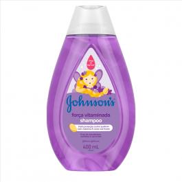 Shampoo Johnson's Força Vitaminada com 400ml