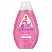 JOHNSONS BABY SHAMPOO GOTAS DE BRILHO 400ML