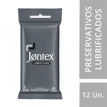 JONTEX PRESERVATIVO LUBRIFICANTE COM 12