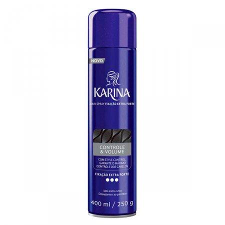 Spray Fixador para Cabelos Karina Controle e Volume