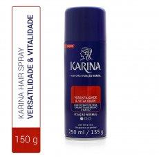 e935516f78 Hair Spray Karina Versatilidade   Vitalidade Fixação Normal