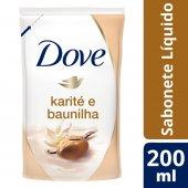 Refil Sabonete Líquido Dove Delicious Care