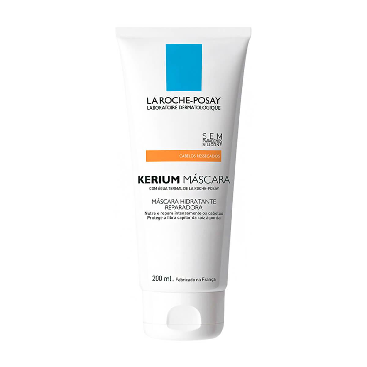 Máscara Capilar Hidratante Reparadora La Roche-Posay Kerium com 200ml 200ml