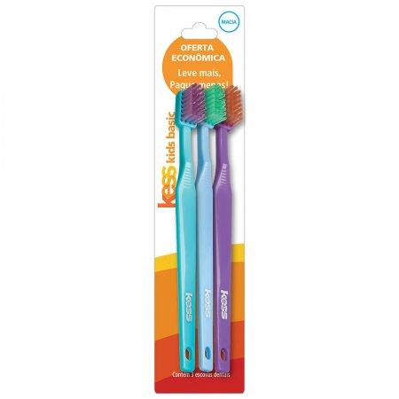 Kit Escova Dental Kids Kess Basic