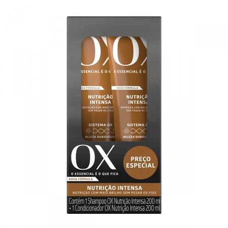 Kit Shampoo + Condicionador Ox Nutrição Intensa