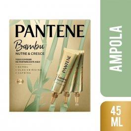 Kit Ampola de Tratamento Pantene Extrato de Bambu com 3 unidades