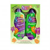 Kit Shampoo + Condicionador Beauty Slime Verde Neon com 200ml