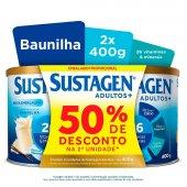 Kit Complemento Alimentar Sustagen Adultos+ Sabor Baunilha