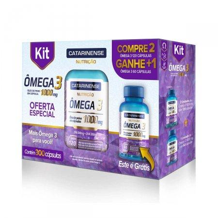 Kit Complexo Vitamínico Ômega 3 1000mg
