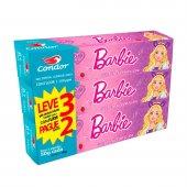 Kit Gel Dental Condor Kids Barbie com 3 Unidades