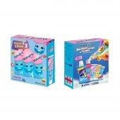 Kit Gel Dental Infantil Malvatrikids Baby Anticárie Tutti-Frutti com 3 Unidades