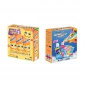 Kit Gel Dental Malvatrikids F-Infantil Anticárie Tutti-Frutti com 3 Unidades