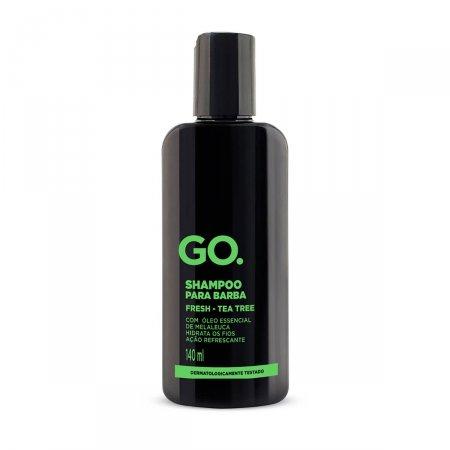 Kit GO. Tea Tree Shampoo para Barba 140ml + Óleo Creme para Barba 25ml + Necessaire | Drogasil.com Foto 2
