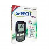 Kit Medidor de Glicose G-Tech Free 10 Tiras, 10 Lancetas, 1 Lancetador