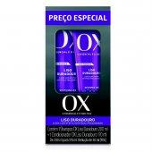 Kit OX Liso Duradouro Shampoo + Condicionador