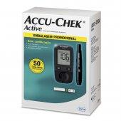 Kit para Controle de Glicemia Accu Chek Active + 50 Tiras