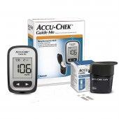 Kit para Controle de Glicemia Accu Chek Guide Me com 1 Monitor + 10 Tiras