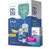 Kit para Limpeza de Lente de Contato Renu Fresh 355ml + Renu Fresh 120ml + Rebalance 10ml