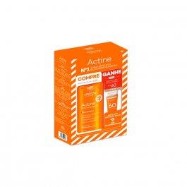 Kit Actine com 1 Sabonete Líquido para Pele Acneica de 400ml + 1 Protetor Solar Com Cor FPS 60 de 20g