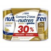 Kit Suplemento Alimentar Nutren Senior Sem Sabor