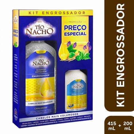 Kit Shampoo + Condicionador Tio Nacho Engrossador