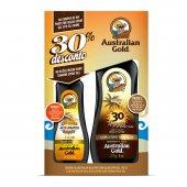 AUSTRAL GOLD KIT SPRAY GEL INSTANT BRONZE FPS30 237ML 30%DESC BRONZ GEL CL DARK TANNI 125ML
