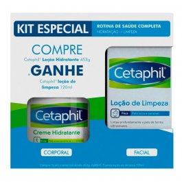 Kit Cetaphil Hidratante + Loção de Limpeza
