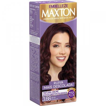 Kit Coloração Maxton Acaju Púrpura 3.66