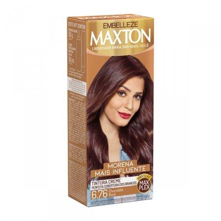 Kit Coloração Maxton Chocolate Rosé 6.76