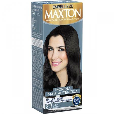 Kit Coloração Maxton Preto Tabaco 2.8