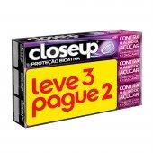 CLOSE UP CREME DENTAL PROTECAO BIOATIVA 90G LEVE 3 PAGUE 2