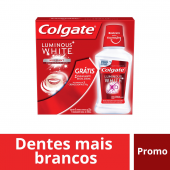 Kit Creme Dental Colgate Luminous White Brilliant Mint