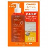 Kit Sabonete Líquido Actine Antiacne + Protetor Solar Sunsafe Color FPS60 Grátis